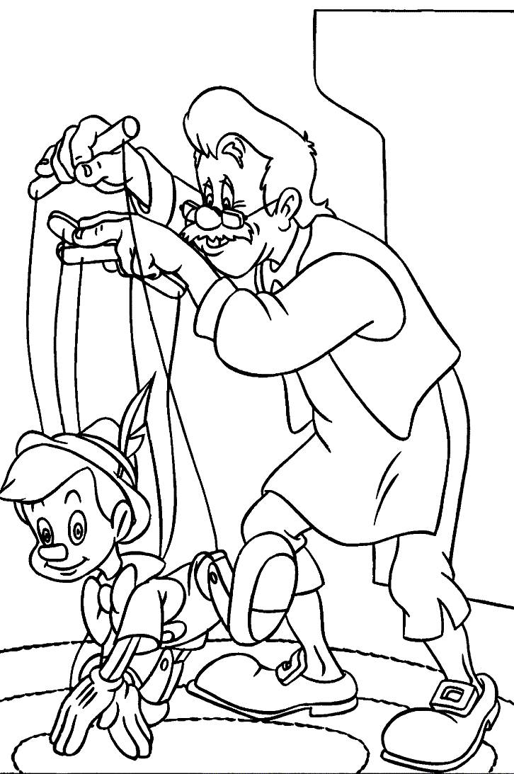 Printable Pinocchio Coloring Pages Coloring Me Pinocchio Colouring Pages