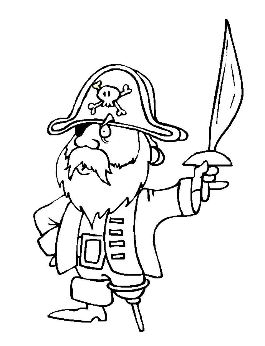 pirate coloring pages to print - pirate coloring pages coloring pages