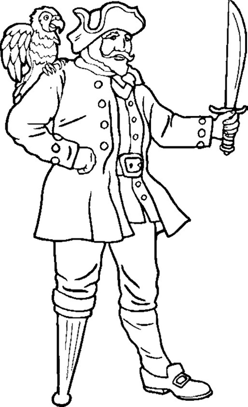 pirate coloring pages free printable - photo#9