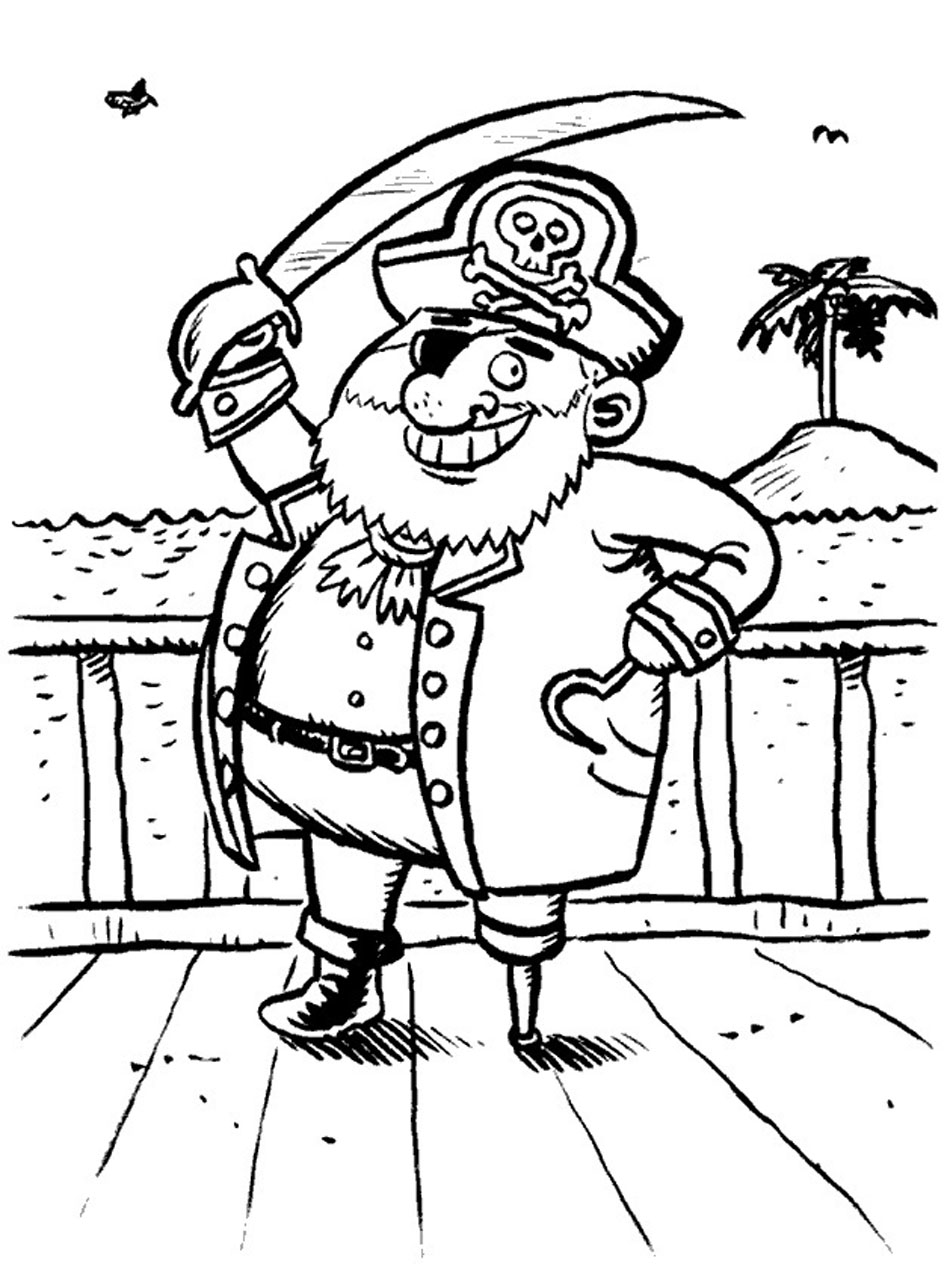 coloring pages pirate coloring pages printable mycoloring free
