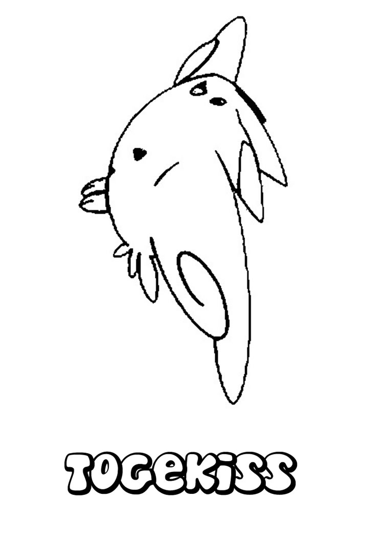 Togepi Coloring Pages - Pokemon Adult Coloring Pages , Transparent ... | 1060x749