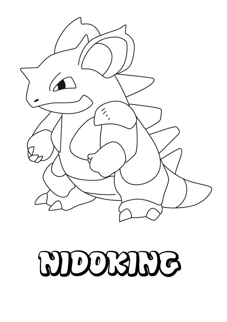 Pokemon coloring pages with names - Pokemon Coloring Sheets