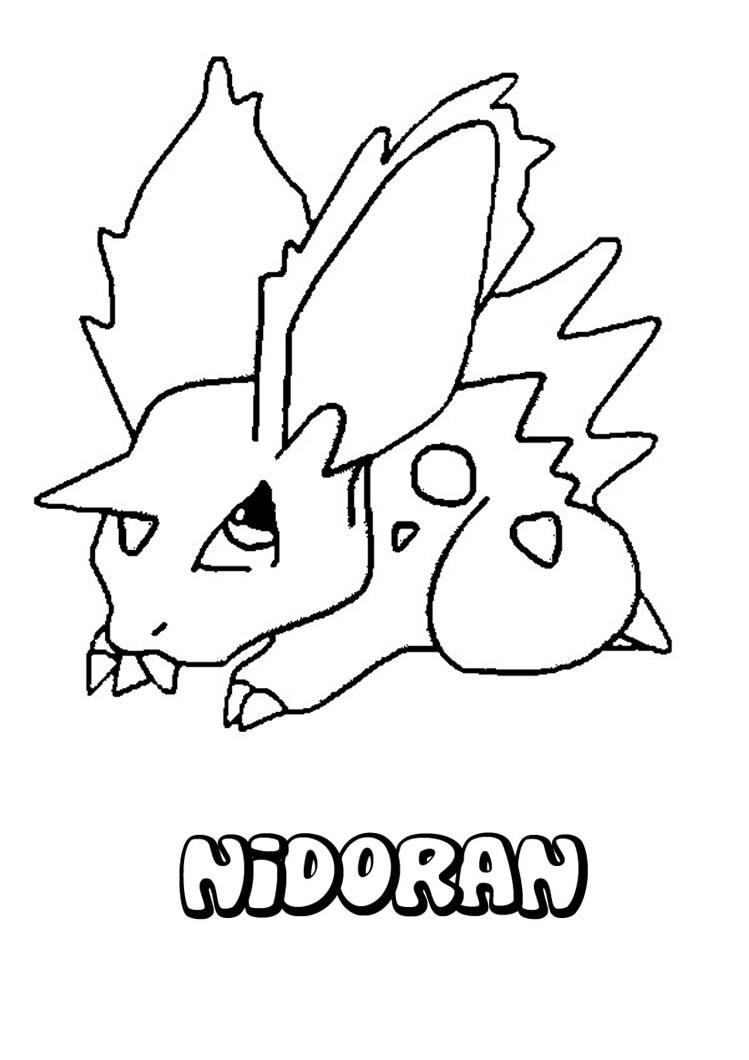 Pokemon coloring pages ponyta - Pokemon Coloring Sheets