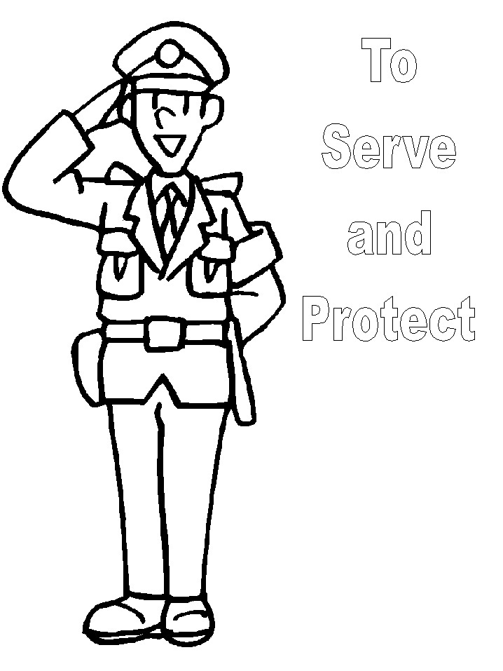 community helper coloring sheets