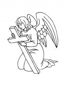 Printable Angel Coloring Pages | Coloring Me