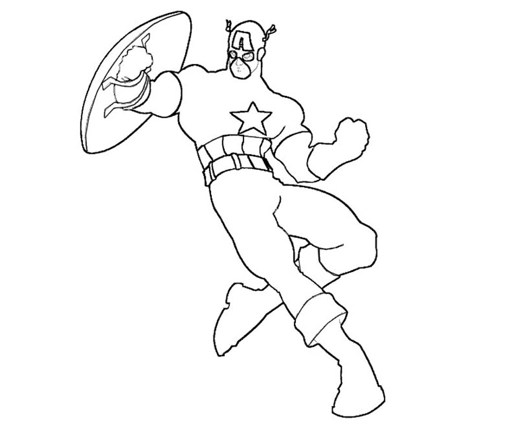 Hulk Face Mask Coloring Pages