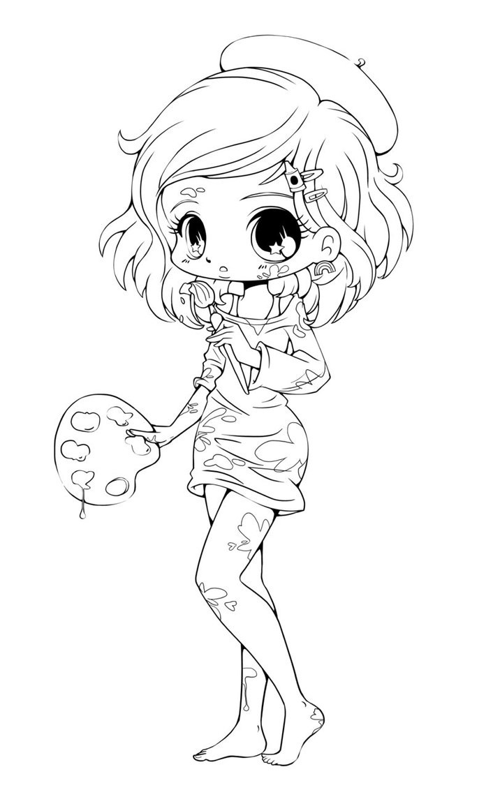 Adult Top Chibi Coloring Page Images best printable chibi coloring pages me gallery images
