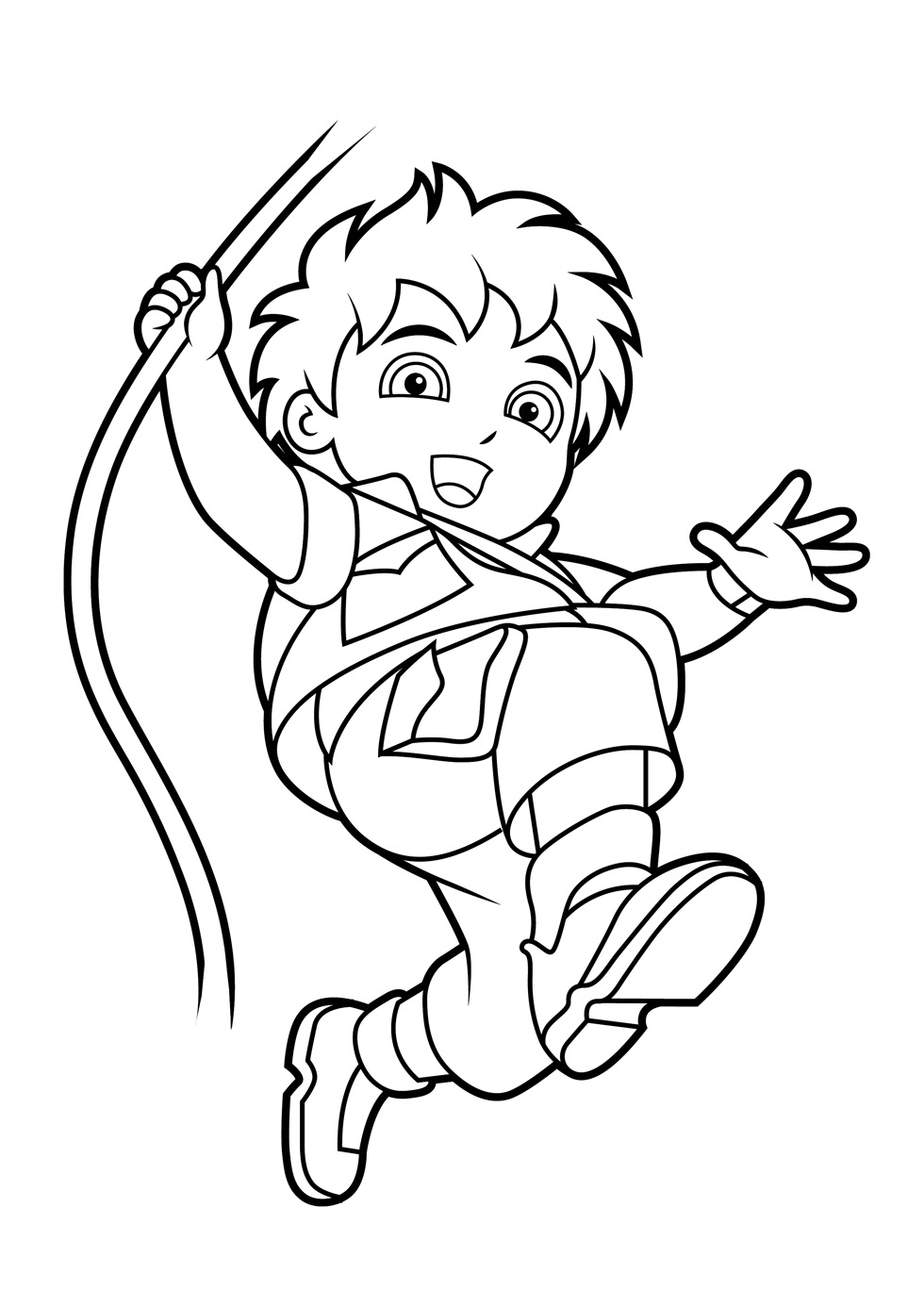 free coloring pages diego - photo#16