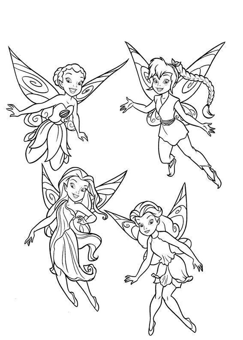 - Printable Disney Fairies Coloring Pages ColoringMe.com