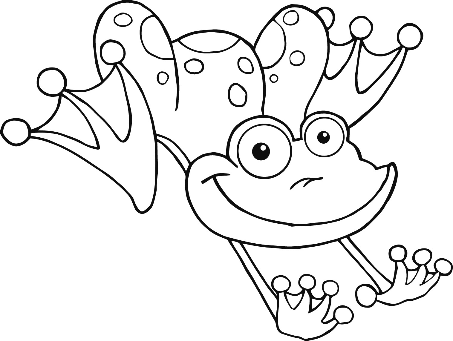 frog coloring sheets print frog - Steelers Coloring Pages Printable