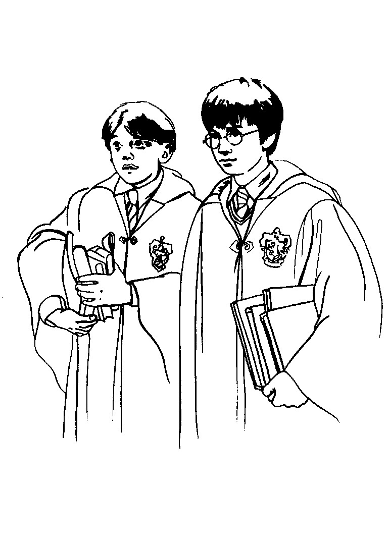 Free Coloring Pages Of Harry Potter