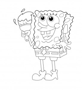 Printable Spongebob Squarepants Coloring Pages for Kids