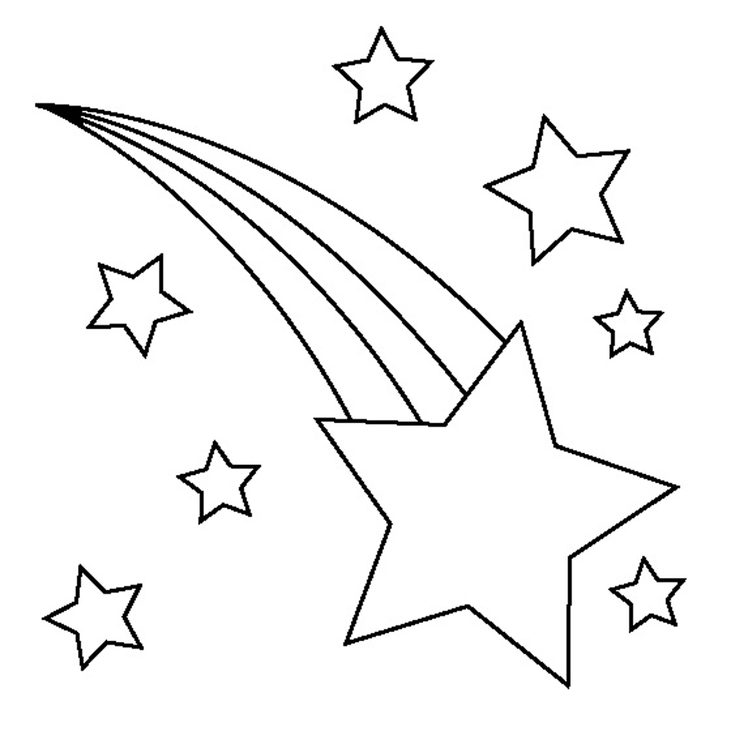 Coloring Page Star Pages For Kids