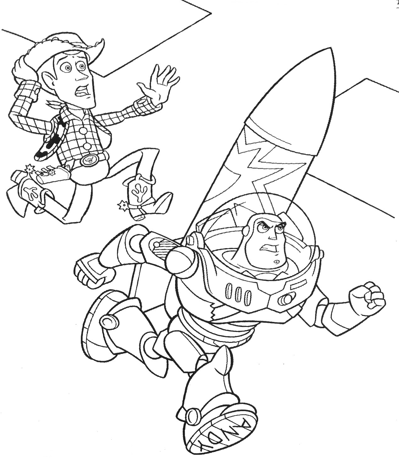 Printable Toy Story Coloring Pages | Coloring Me