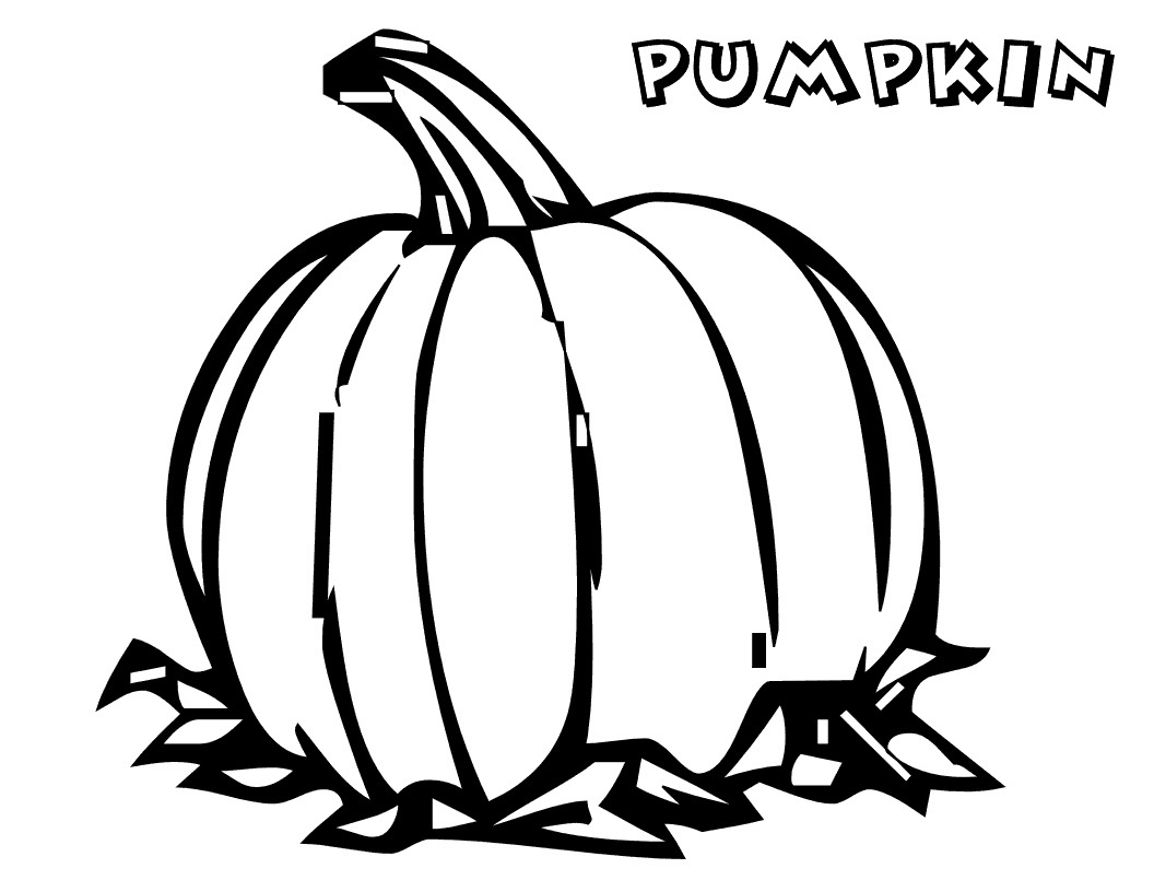 pumpkin patch coloring pages free - photo#33