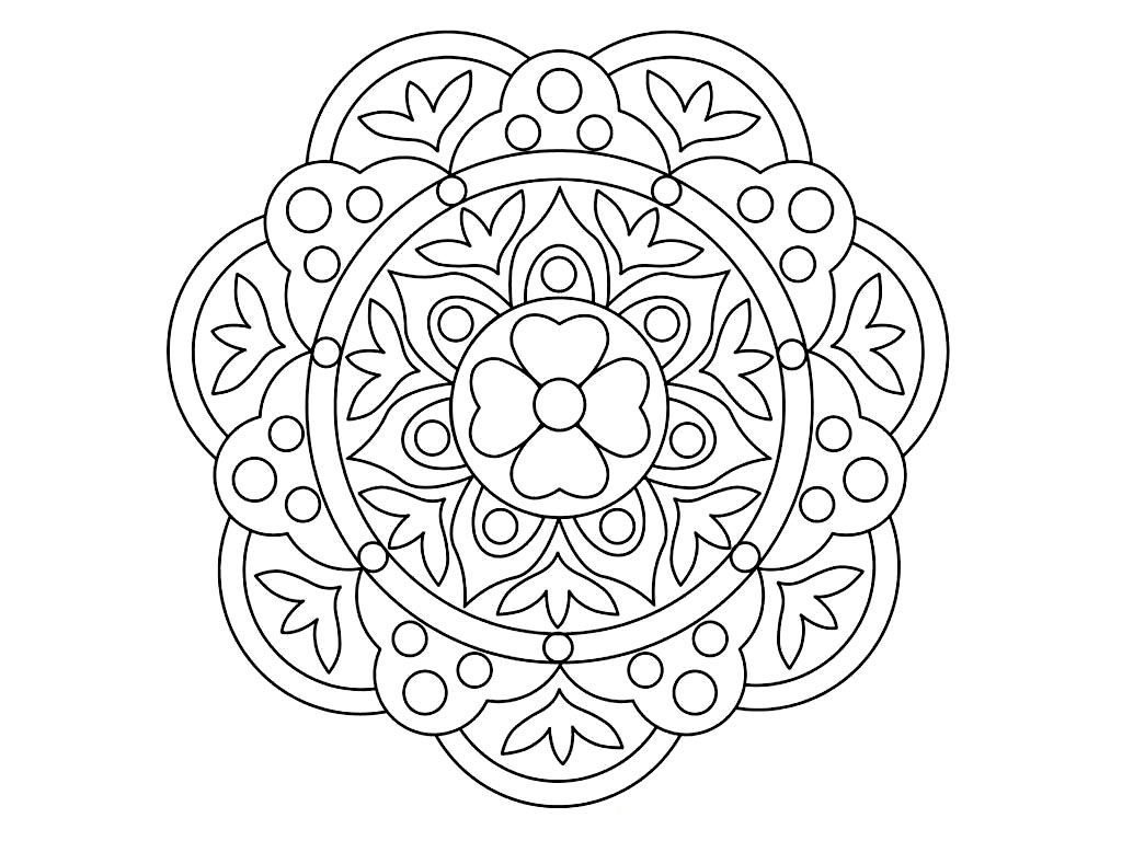 Rangoli Patterns Coloring Pages Rangoli Designs Printable Coloring Pages