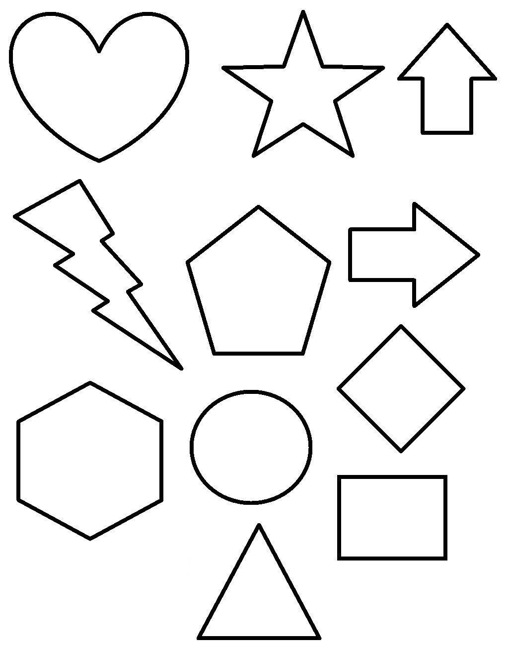 21 top photos ideas for shapes coloring pages gft 10746