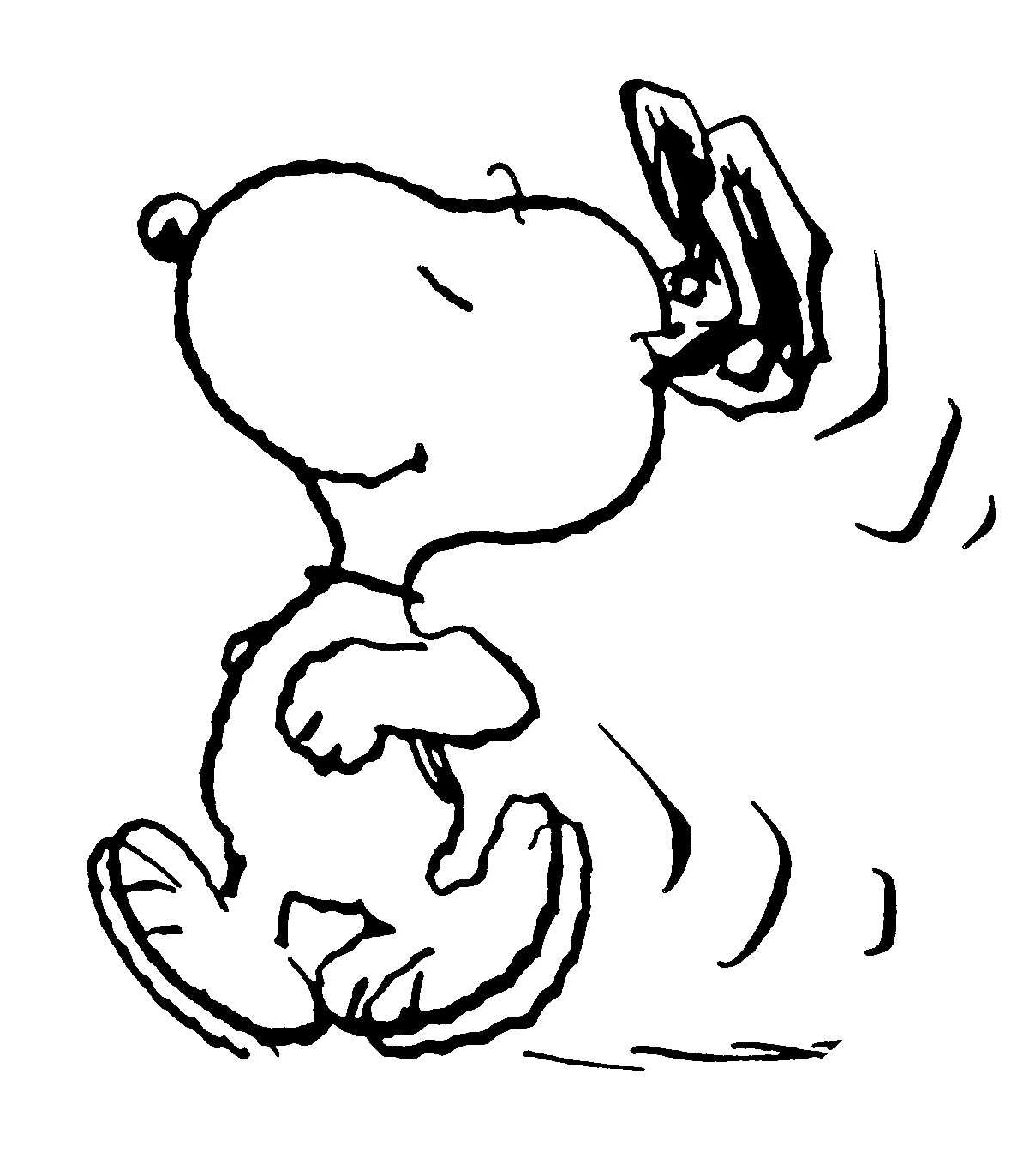 Printable Snoopy Coloring Pages Coloringme Com