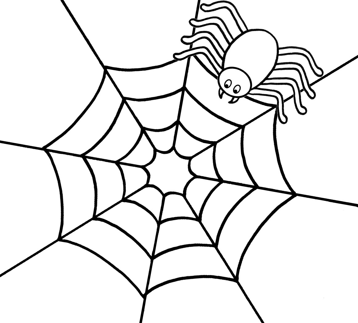 Spider Printable Coloring Pages Coloring Page Spider