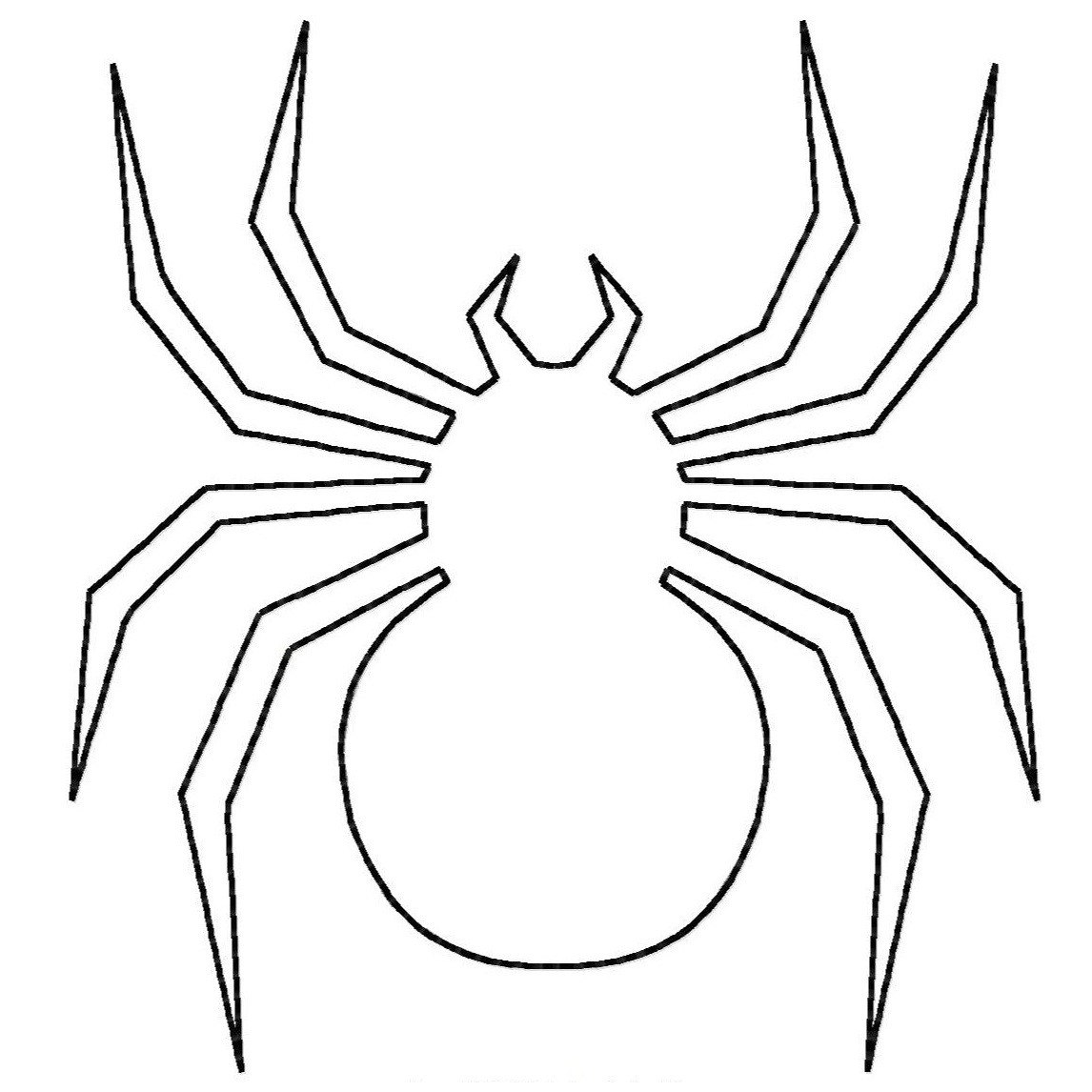 printable halloween spider coloring pages - photo#15