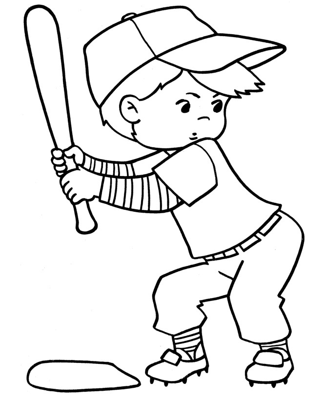 Printable Sports Coloring Pages ColoringMe.com