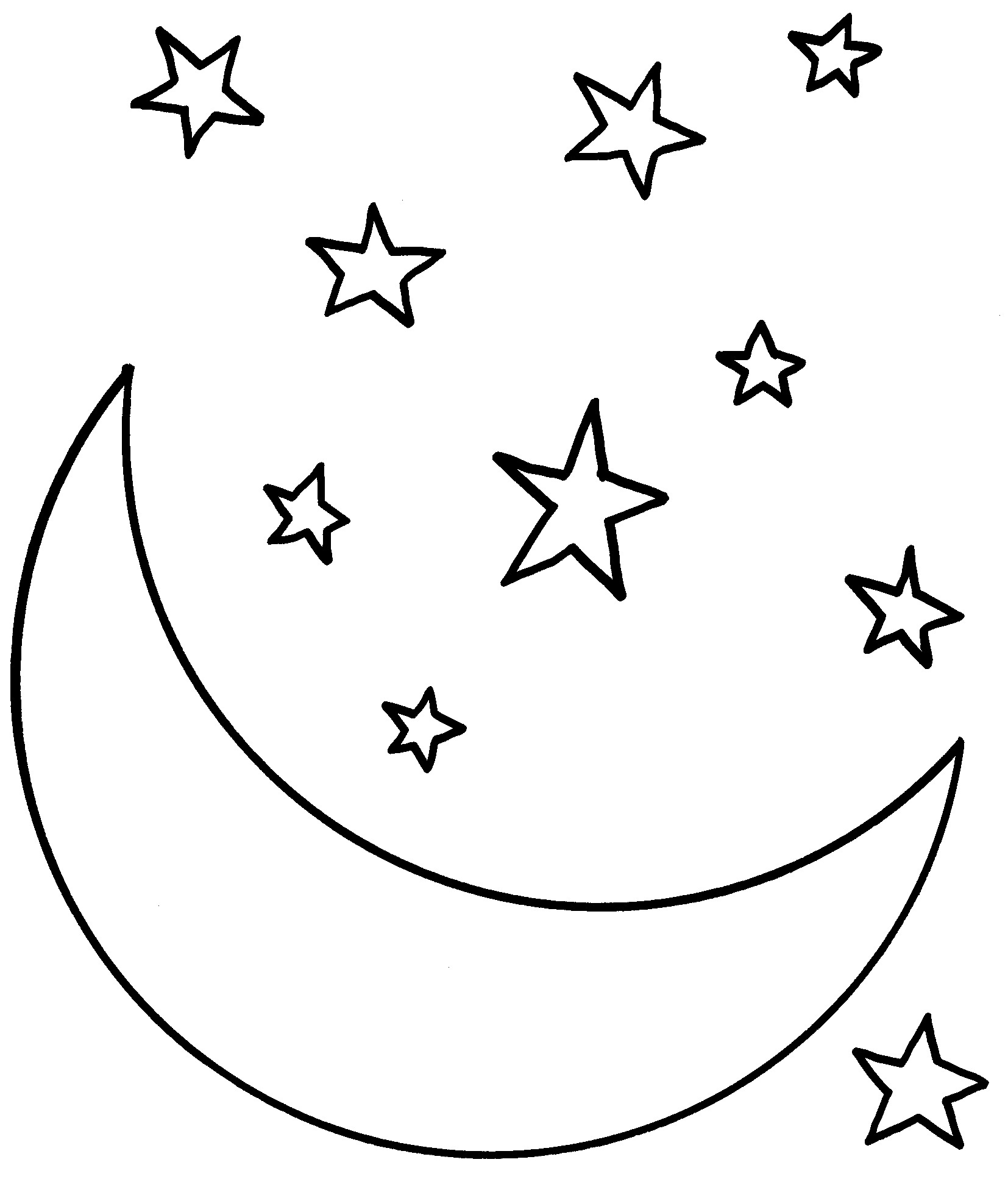 Free coloring pages for 4 year olds - Colouring In Pages For 4 Year Olds Star Coloring Sheets