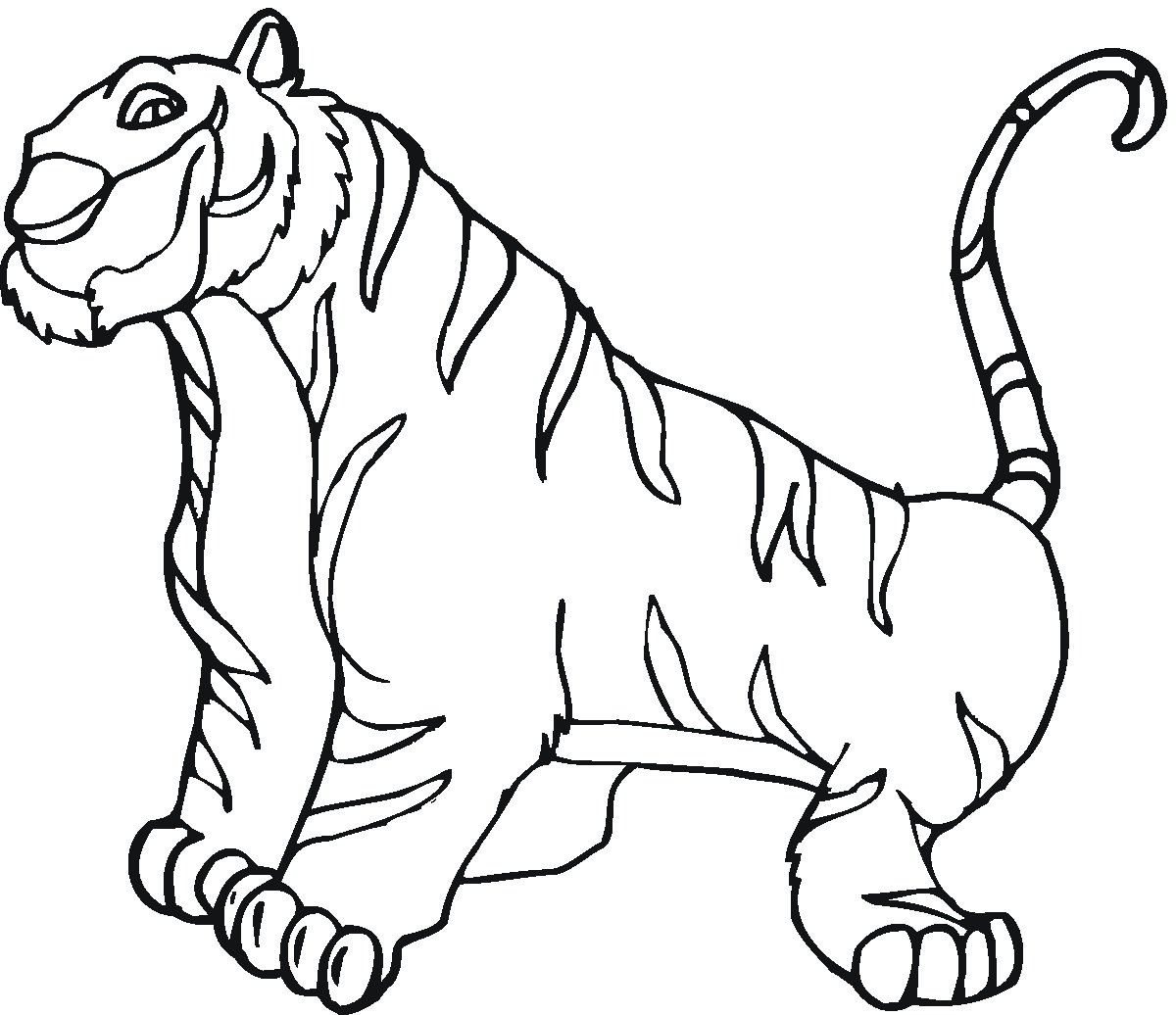 Coloring Pages Tiger Cubs - Coloring Home | 1036x1200