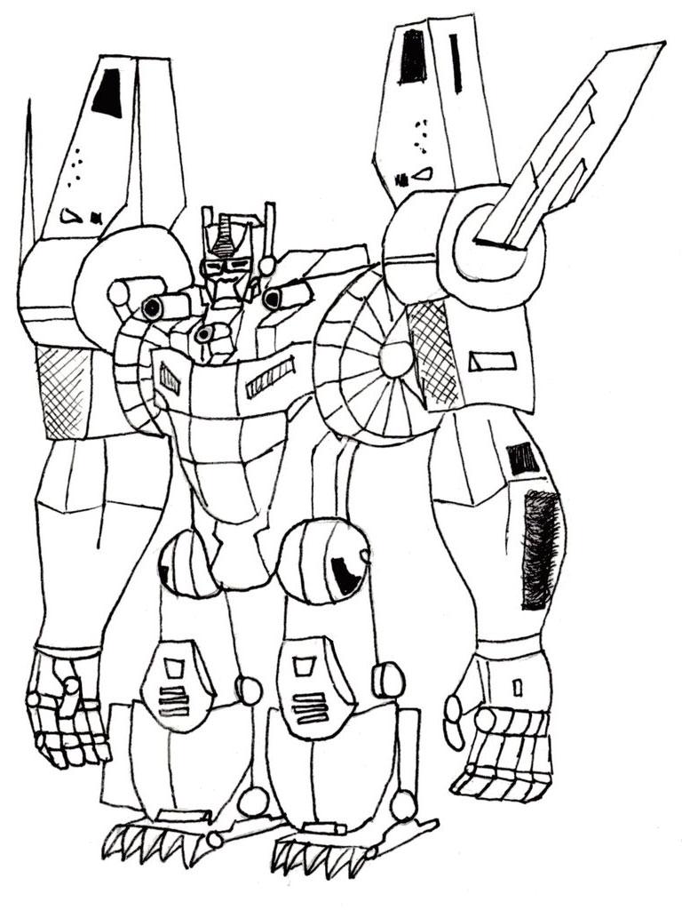 Transformers Coloring Pages Optimus Prime | ColoringMe.com