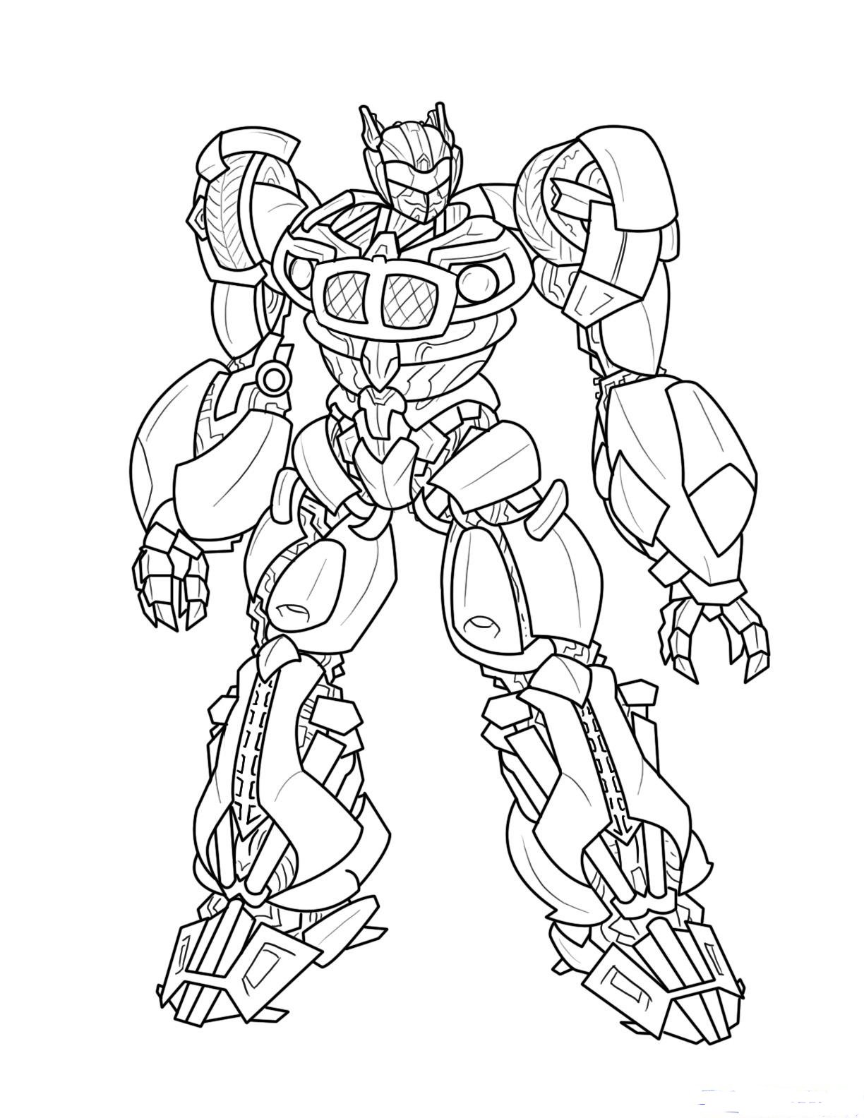 Printable Transformer Coloring Pages  Coloring Me