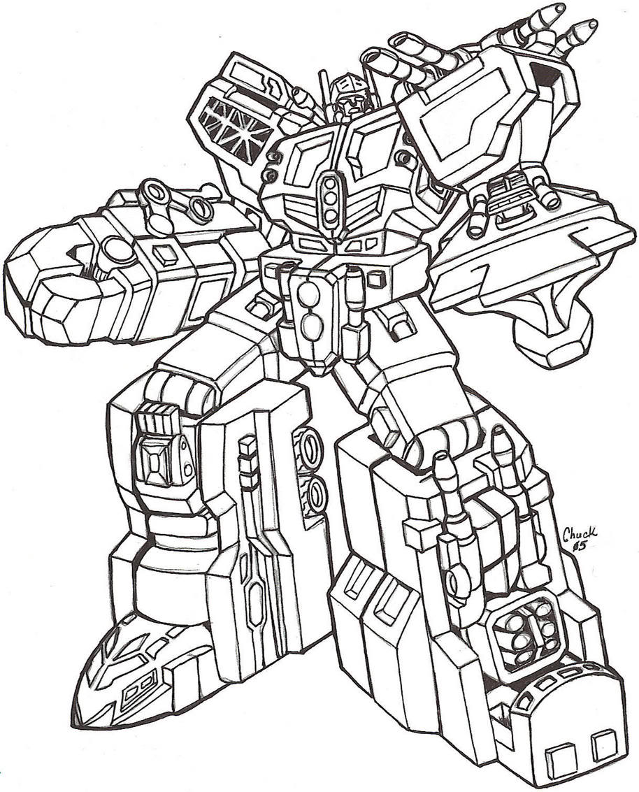 transformers free coloring pages clampdown - photo#23