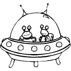 alien spaceship coloring pages - Spaceship Coloring Pages Print