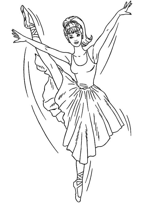 Printable Ballet Coloring Pages | Coloring Me