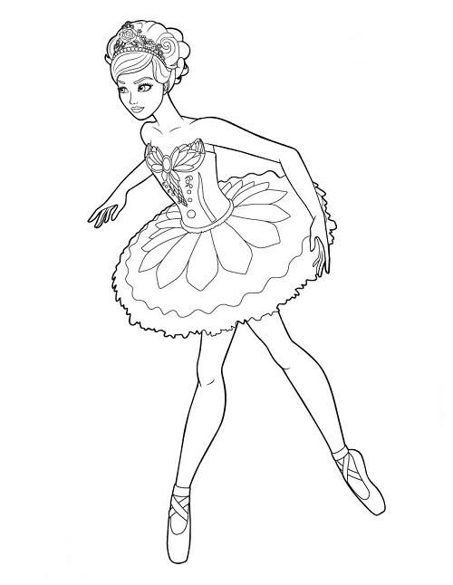Printable Ballet Coloring Pages ColoringMe.com