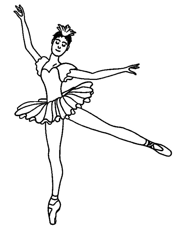 coloring pages tutu - photo#3