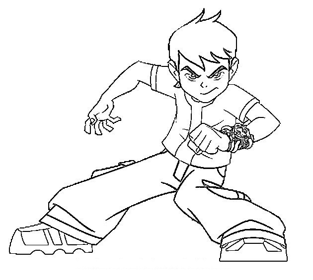 ben 10 omniverse coloring pages - Coloring Pages For Kids   565x630