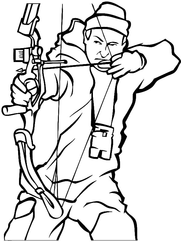hunting coloring sheets - Hunting Coloring Pages