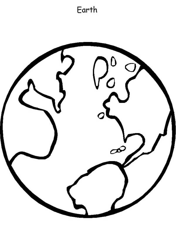 Colouring In Pages Earth: Printable earth coloring pages ...
