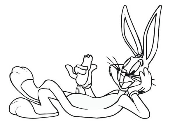 printable bugs bunny coloring pages me
