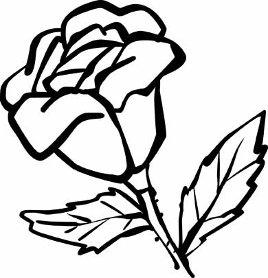 Coloring Pages Roses