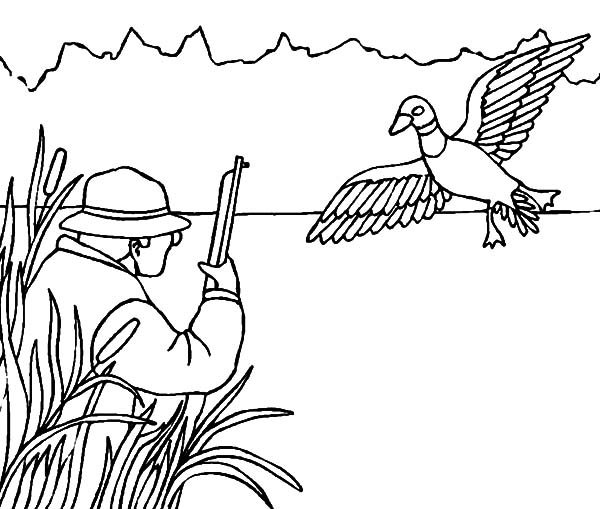 ducks unlimited coloring pages - photo#29