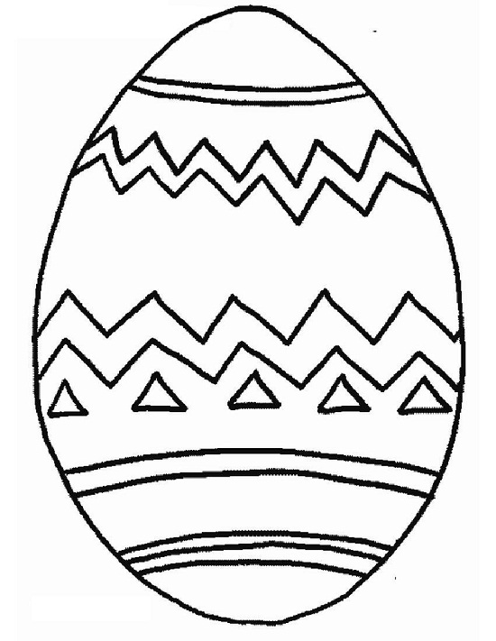 Easter Printable Coloring Pages Eggs 10 cool free printable