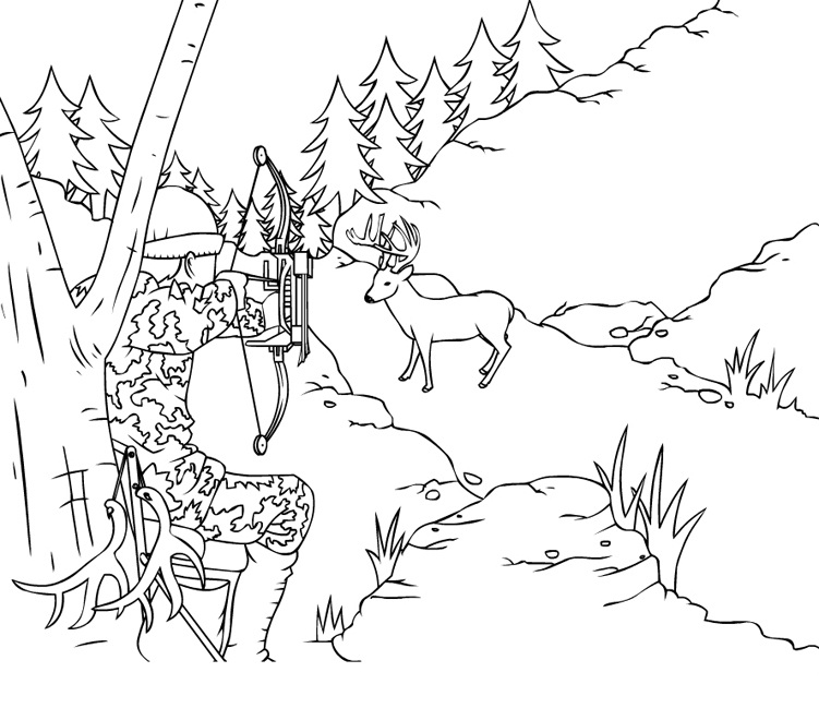 outdoors coloring pages for adults - photo#14