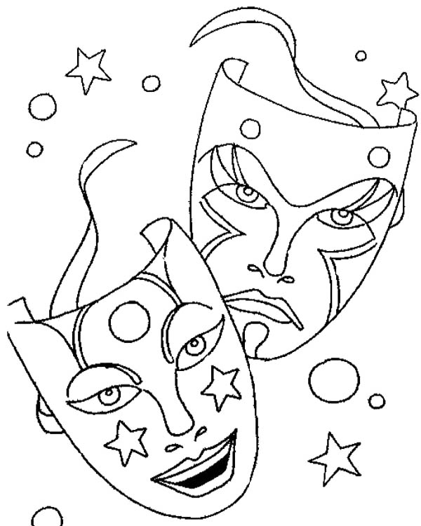 It's just an image of Revered Mardi Gras Coloring Pages Free Printable