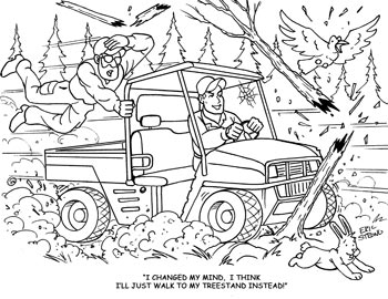 Hunting Coloring Pages for Adults | ColoringMe.com
