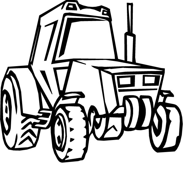John Deere Gator Pages Coloring Pages