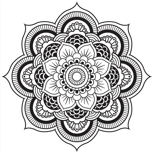 kaleidoscope coloring pages to print - photo #27