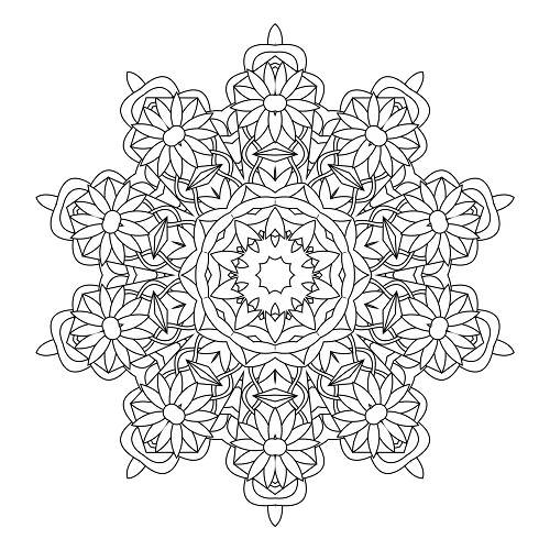 Kaleidoscope Pages Coloring Pages Kaleidoscope Coloring Pages