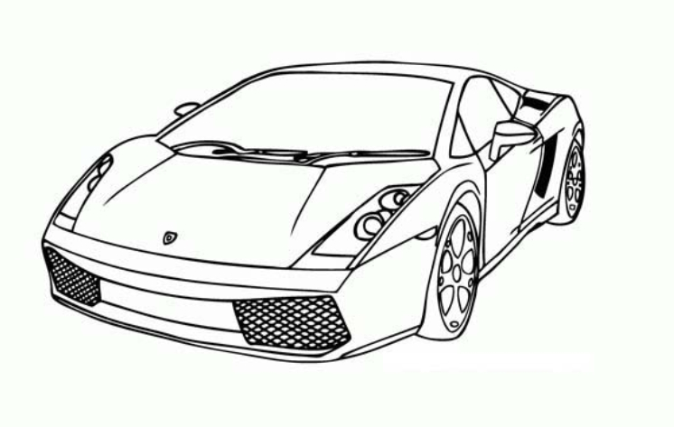 lamborghini coloring sheets