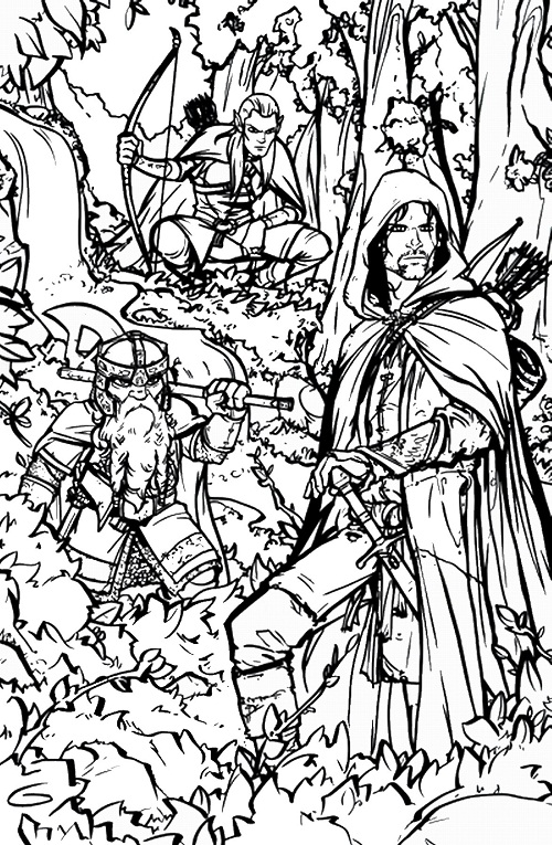 lego lord of the rings coloring pages to print coloring pages