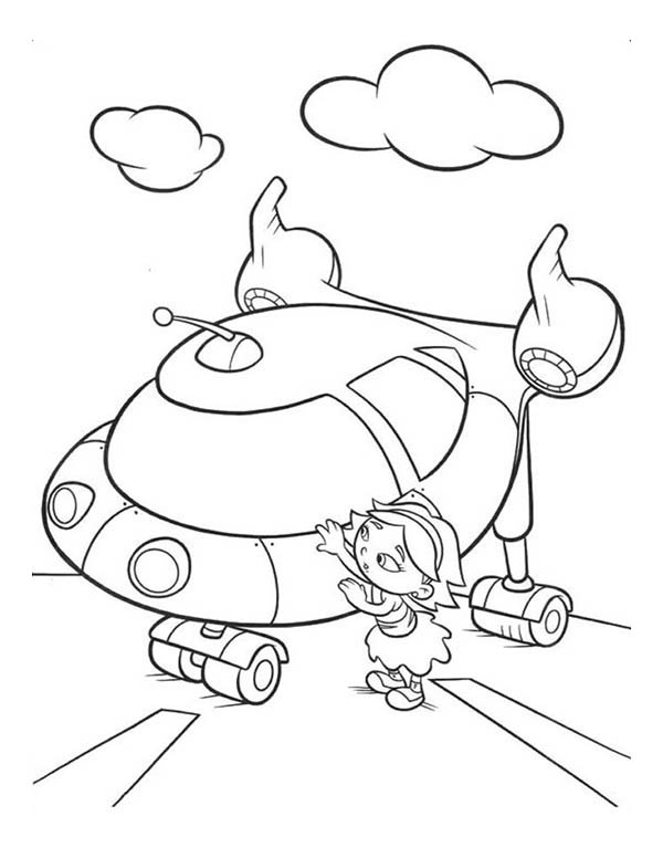 little einsteins june coloring pages - photo#10